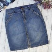 Модная джинсовая юбка Н@М, смотрите замеры