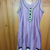 Легке плаття з вишивкою на літо!