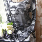 Andrea брендовое платье вискоза+эластан королевский размер
