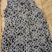Большой размер!!! Блуза-туника! Натуральная ткань!
