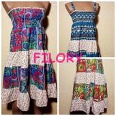 Сарафан (юбка) со съемными бретелями, разные расцветки.