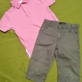 Обалденный летний образ для мальчика 10-11 лет. Капри+поло. В идеале.