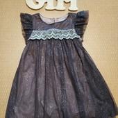 Красивое нарядное платье Next на девочку 92 см