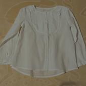 Блуза тончайшая хб Zara индия отличное состояние 6 лет/116