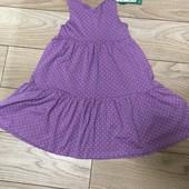 Новое! Сарафан платье Н&М 110-116