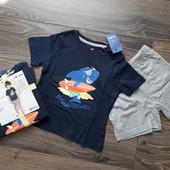 Lupilu 98/104 комплект (футболка+шорти)