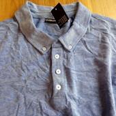Стильная футболка рубашка Livergy поло размер хл(56-58)под джинс