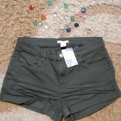Джинсовые женские шорты H&M, размер 6 (eur 36). Сток!