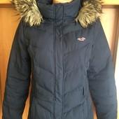 Куртка, зима, 65%пух+35%перо, р. М. Hollister. состояние отличное