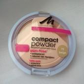 Пудра атибактериальная компактная со спонжем Тон: 75 Beige