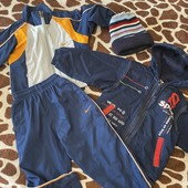 Спорт.костюм или Куртка Деми на флисе. На выбор победителя или костюм или Куртка с шапкой.