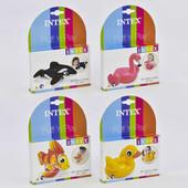 Intex - надувные игрушки для игры в воде.Уточка или Фламинго