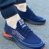 Стильные мужские кроссовки весна-лето