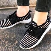 Супер Стильные дышащие кроссовки / макасины- комфорт и качество! 36-40