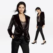 Бархатный пиджак Esmara размер 34 Германия8