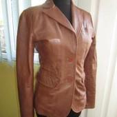 Классная ! Жен. Пиджак лето - Aviatrix Original outerwear - 100% Кожа !