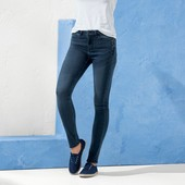 Esmara летние шикарные джинсы super skinnt fit с вышивкой Германия