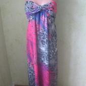 Шикарное платье бюстье миди в идеальном состоянии