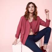 ☘ Куртка-ветровка ягодного цвета в стиле casual от Tchibo(Германия), размеры наши: 48-50 (42 евро)
