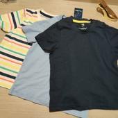 Германия!!! Лот из 3 классных коттоновых футболок для мальчика! 86/92!