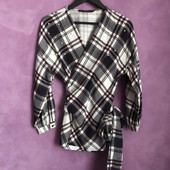 Блузка/блуза на запах Zara