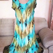 легкое летнее свободное платье фирма Indiano
