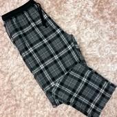 Фланелевые штаны для дома и сна