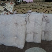 Сидушка-подушка для стульев, на завязках. Для работы и дома.