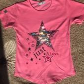 Трендовые детские футболки 3 цвета