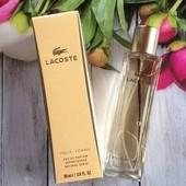 Lacoste Pour Femme - Очень тонкий, деликатный. Это сама нежность, в первозданном виде!