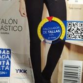 Отличные чёрные джинсы skinny fit Esmara Германия размер евро 38
