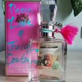 Оригинал!! Juicy Couture peace, love & juicy сouture, 5мл
