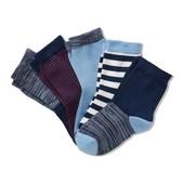 ⚙ Лот 1 пара⚙ Для мальчика-качественные носочки из органического хлопка, Tchibo(Германия), р.: 23-28