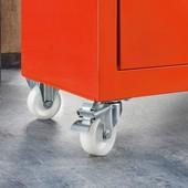 Powerfix Германия Отменный прочный набор колес на крупную мебель и технику до 50кг Сталь