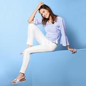 Красивые белые джинсы Tchibo Германия, размер 42евро (48наш)