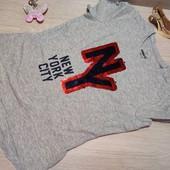 Германия!!! Классная коттоновая футболка для девочки! 146/152!