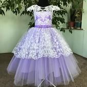 Шикарное платье для принцессы. Нарядное детское платье. Много отзывов