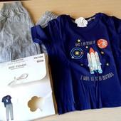 Піжамка на хлопчика, бренд lupilu германія розмір 110/116, в упаковці