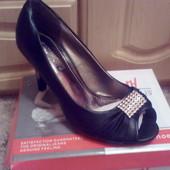 Распродажа!!!!Классные туфельки с открытым носочком!!!.Фото свои