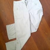 36-38р. Вельветоновые летние брюки-бриджи с подворотом Gap, замеры