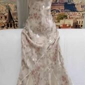 Длинное воздушное платье на бретелях, Monsoon, размер М.