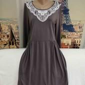 Мягенькое платье, Boden, размер L - XL.