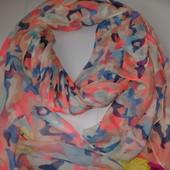 Сток. Большой шарф - платок 95×200