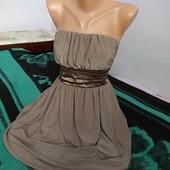 Святкова сукня кавового кольору