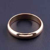 Кольцо обручальное 'Pataya' 16размер (позолота 18к). Много лотов!