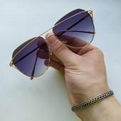 Стильные солнцезащитные очки + подарок ! UV 400. Сделайте свой образ незабываемым! ❦ ❥❥❦