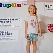 Літній костюм для дівчинки, розмір 110/116, бренд my lupilu, германія