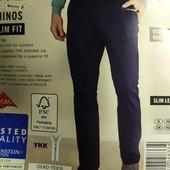 """Отличные мужские брюки """"chinos slim fit"""" Livergy Германия размер 48"""