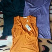 Всё одним лотом!!! Женские фирменные футболки- майки!
