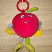 Розвиваюча підвіска Чарівне яблуко Tiny Love. Подвеска погремушка Волшебное яблоко